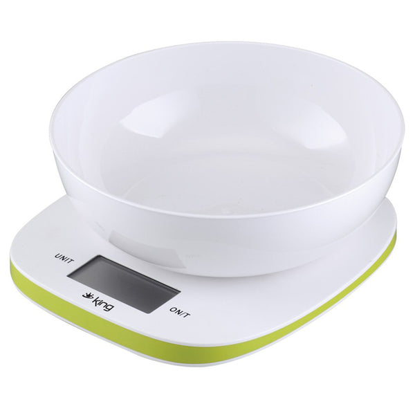 King Ec-314 Kitchen Scale Green