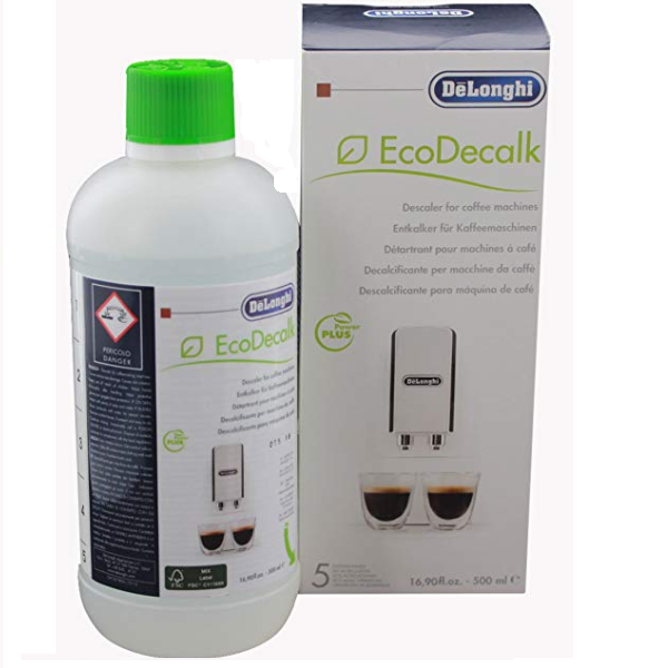 De'Longhi EcoDecalk Coffee Machine Descaler (500ml).