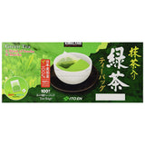 Kirkland Signature Ito En Matcha Blend (Green Tea), 100% Japanese Green Tea Leaves, 100 Tea Bags