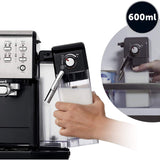 BREVILLE Coffee House One-Touch VCF107 Coffee Machine In Black & Chrome
