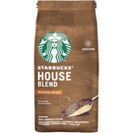 Starbucks House Blend Medium Roast Ground Coffee Bag (200g).
