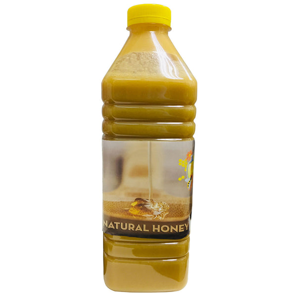 Natural Brown Raw Honey from CIS Region, 2Kg