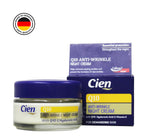 CIEN ANTI-WRINKLE NIGHT CREAM WITH Q10, HYALURONIC ACID AND VITAMIN E 50ML