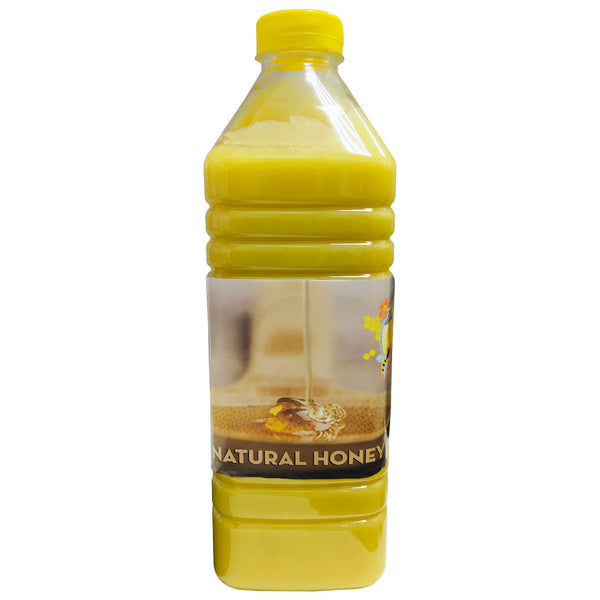 Natural Yellow Raw Honey from CIS Region, 2 Kg