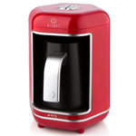 Kismet(كيسمت) Automatic Turkish Coffee Machine Red - K 605