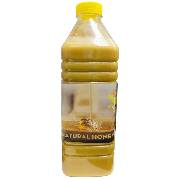 Natural Light Brown Raw Honey from CIS Region, 2Kg