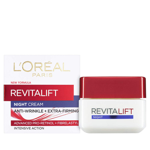 L'Oreal RevitaLift Night Cream 50ml/1.7oz - Anti Wrinkle