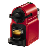 NESPRESSO Inissia Coffee Capsule Machine (Red Colour).