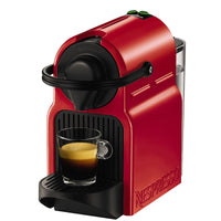 NESPRESSO INISSIA COFFEE CAPSULE MACHINE with 19 BAR Free, RED BY KRUPS
