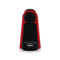 NESPRESSO by Magimix Essenza Mini Coffee Machine with Aeroccino - Ruby Red with 19 BAR