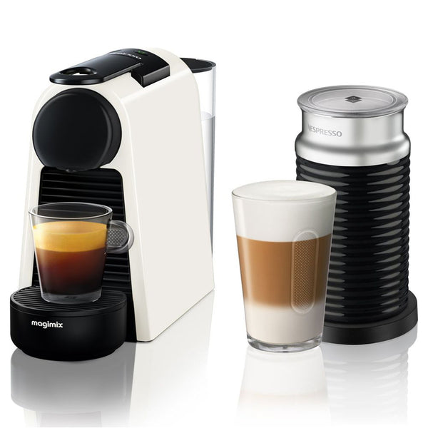Nespresso Essenza Mini Coffee Machine White  by Magimix
