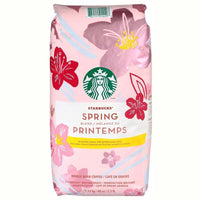 Starbucks Spring Blend whole bean coffee ( Medium Roast ) 1.13kg