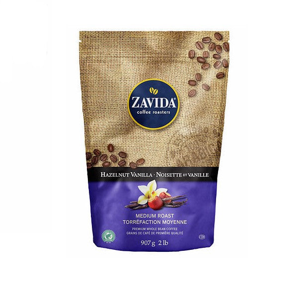 Zavida - Hazelnut Vanilla Whole Bean Coffee