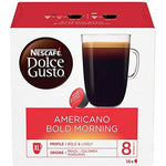 NESCAFE DOLCE GUSTO AMERICANO BOLD MORNING COFFEE PODS (16 CAPSULES).
