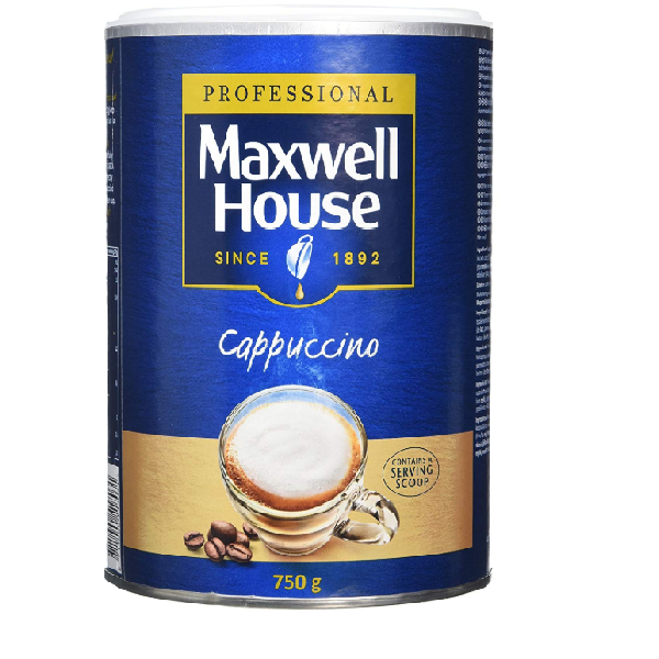 Professional Maxwell House Instant Cappuccino - 750g