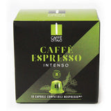 Cafe ottavo intenso Nespresso Compatible Coffee Capsules (Pack of10)