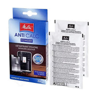 MELITTA DESCALER FOR COFFEE MACHINES (2X40G= 80G).