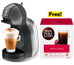 Nescafe Dolce Gusto Mini Me Coffee Machine, Black/Grey