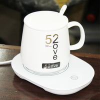 intelligent warm cup Temperature control thermostatic couples heating insulation ceramics Coffee Mug Warmer