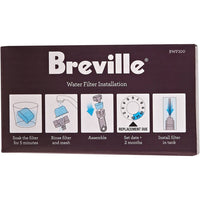 BREVILLE REPLACEMENT WATER FILTERS (PACK OF 6).
