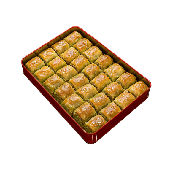 Square Baklava with Pistachio 28 Pieces | Kadayifçizade