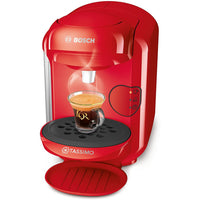 TASSIMO BOSCH VIVY 2 TAS1402GB COFFEE MACHINE, 1300 WATT, 0.7 LITRES  RED
