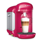 TASSIMO BOSCH VIVY 2 TAS1402GB COFFEE MACHINE, 1300 WATT, 0.7 LITRES (pink).