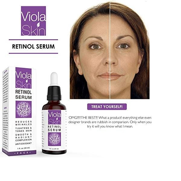 PREMIUM Retinol Face Serum with Hyaluronic Acid & Vitamin E, Anti Aging Retinol Serum for Wrinkles, Fine Lines & Sensitive Skin, Hydrate & Brighten your look