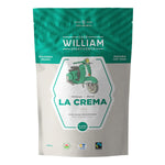 CAFE WILLIAM SPARTIVENTO LA CREMA MEDIUM ROAST FAIR TRADE AND ORGANIC WHOLE BEAN COFFEE (908G).