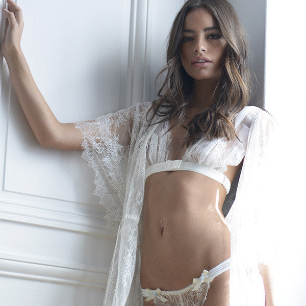 Trousseau Eternity Lace Robe