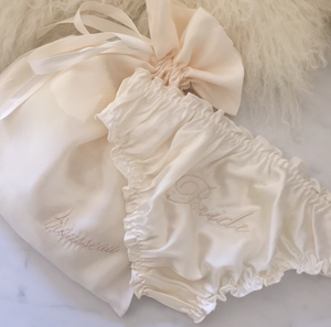 Bride Embroidered Knickers