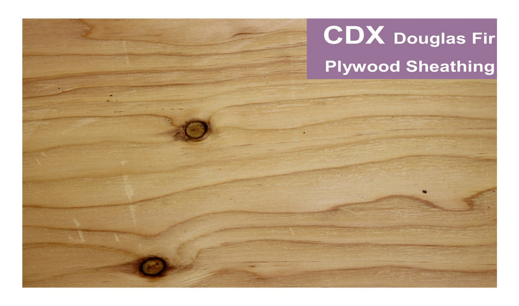 CDX Plywood Sheathing