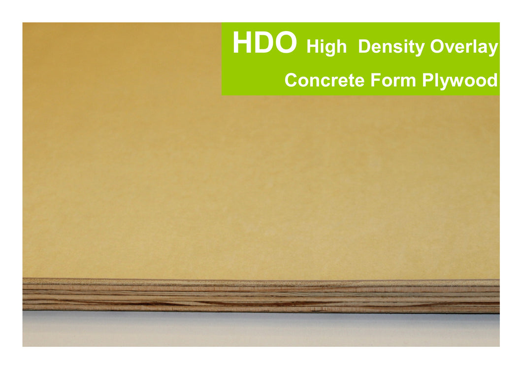 HDO - High Density Overlay Concrete Form Plywood