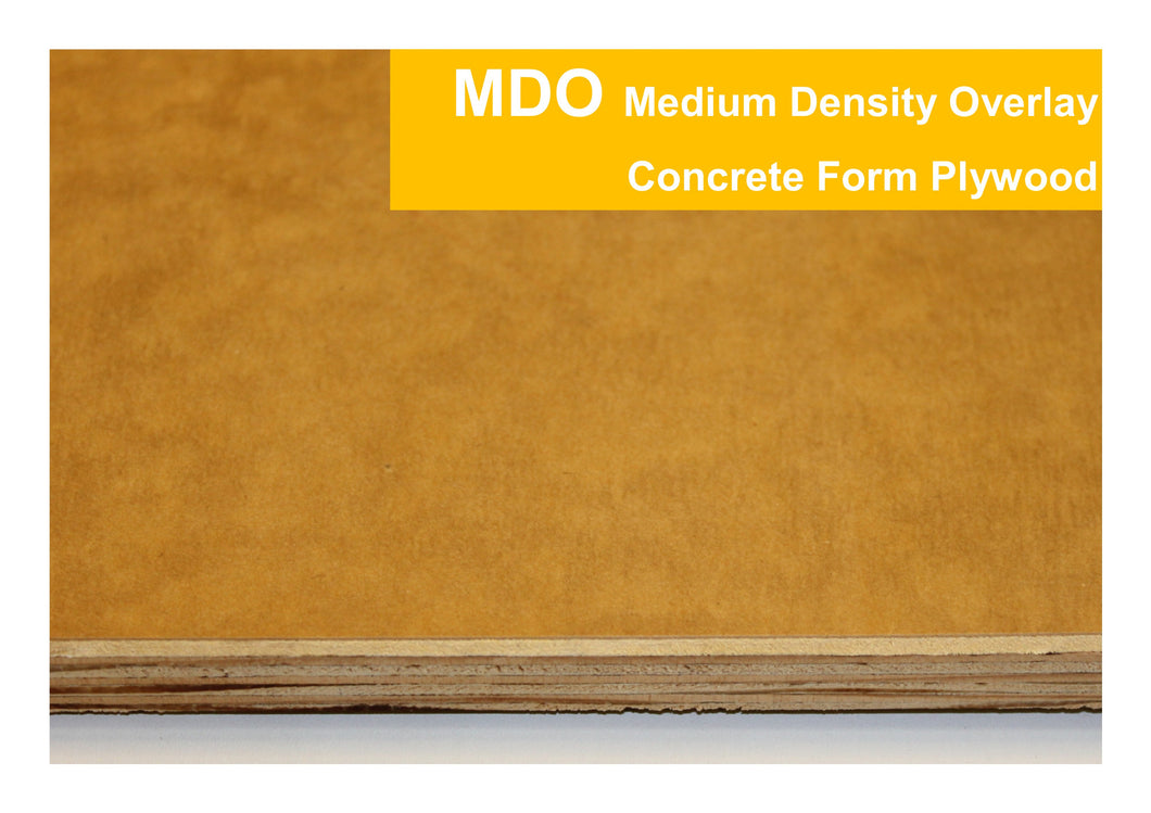 MDO - Medium Density Overlay Concrete Form Plywood