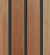 Closed Grill Wood Panel