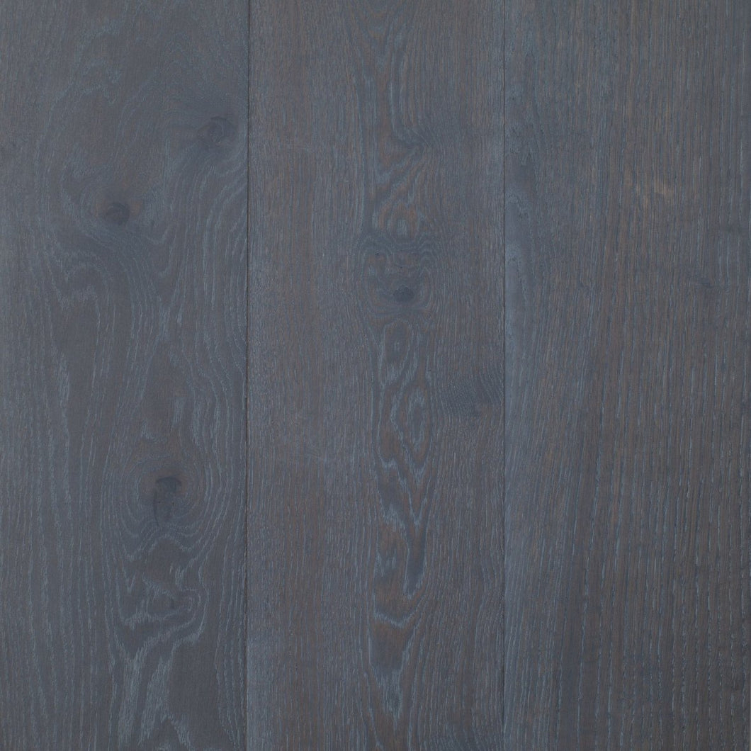 Oak - Steel - engineered wood flooring