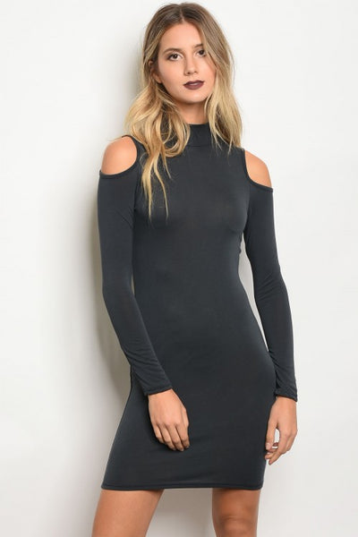Lorainne Open Shoulder Dress