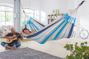 HOW TO HANG A HAMMOCK INDOORS