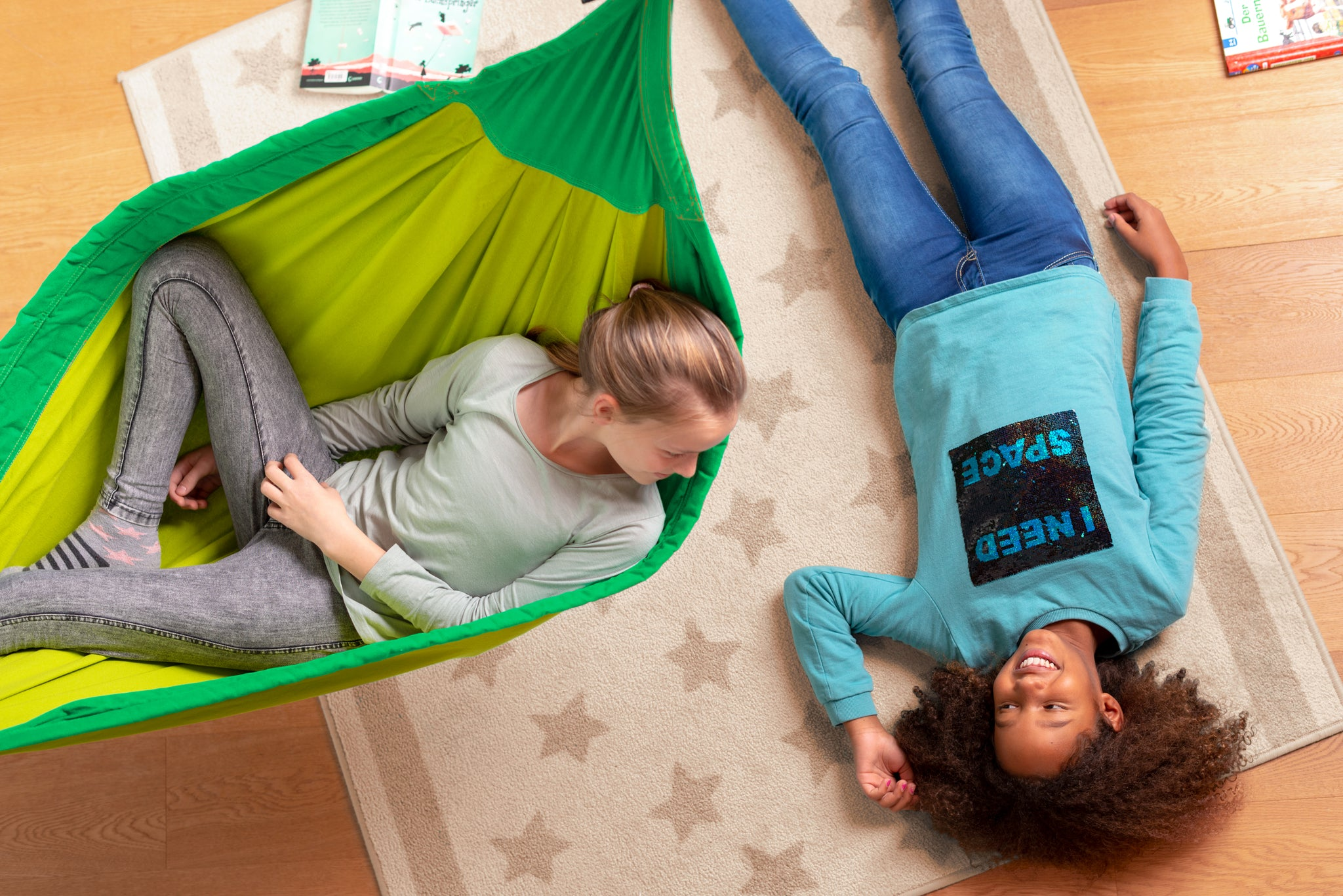 THREE HAMMOCKS GREAT FOR KIDS