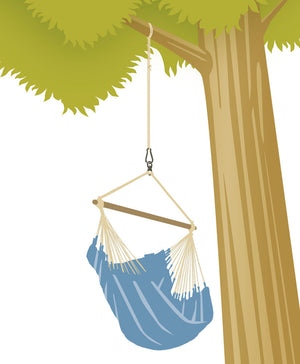 La Siesta Suspension For Hammock Chair and Hanging Nest