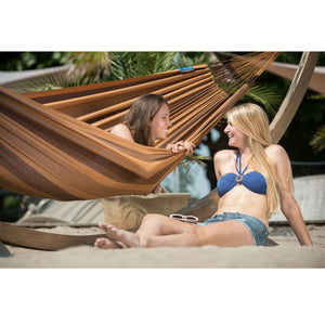 La Siesta Double Hammock Brown
