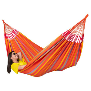 La Siesta Kingsize Classic Hammock orange