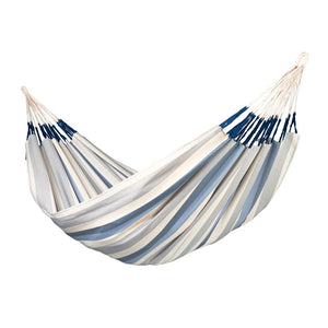 Kingsize Classic Hammock Brisa Sea Salt light blue and white