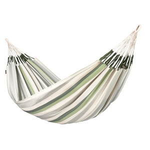 Kingsize Classic Hammock Brisa Cedar green grey and white