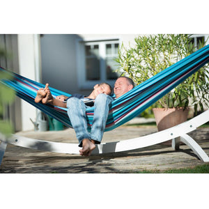 La Siesta Kingsize Classic Hammock blue and purple