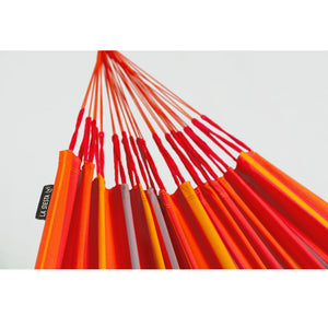 La Siesta Kingsize Classic Hammock orange detail