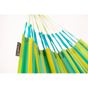 La Siesta Double Hammock green detail