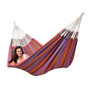 La Siesta Double Hammock purple