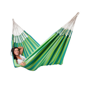 La Siesta Double Hammock green