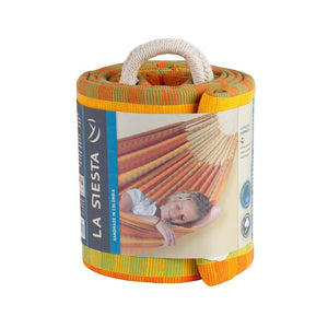 La Siesta Double Hammock orange packaging